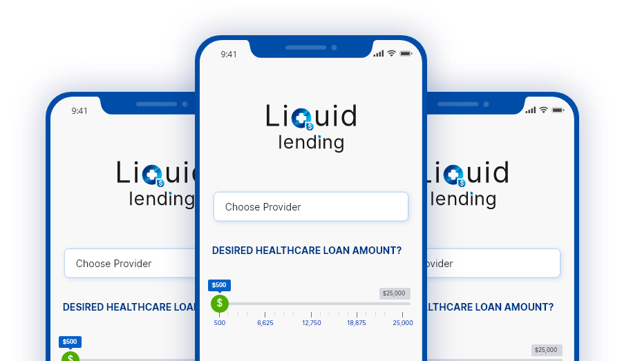 liquid lending mobile screen